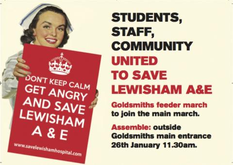 lewisham a e feeder march