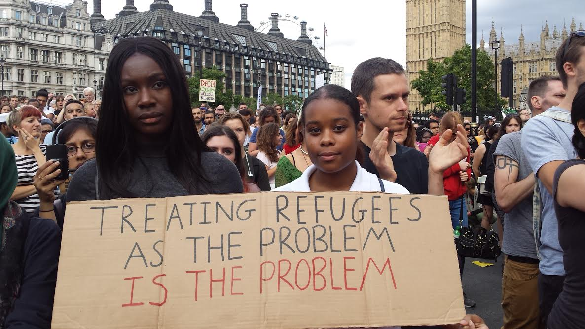 TreatingRefugees as the problem